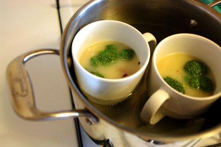 蒸し器がなくてもできる茶碗蒸し