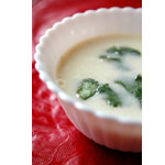 satokoさん作「ゆずとん入りココナッツミルクチキンスープ」